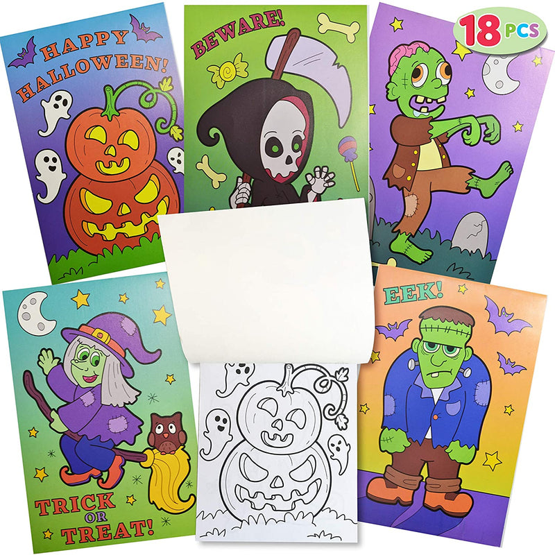 108 Pieces Assorted Halloween Arts and Craft Stationery Kids