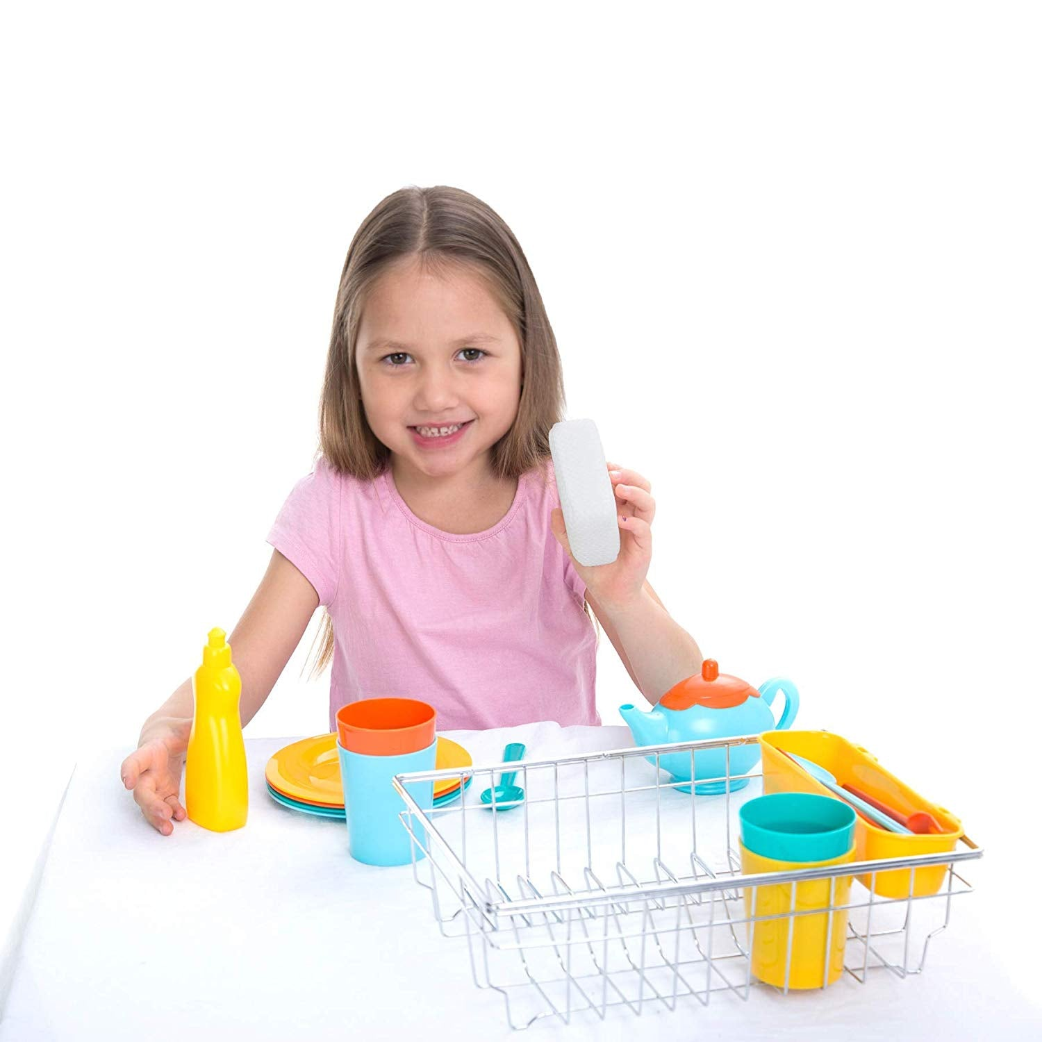 Kitchen Pretend Play Dish Wash and Dry