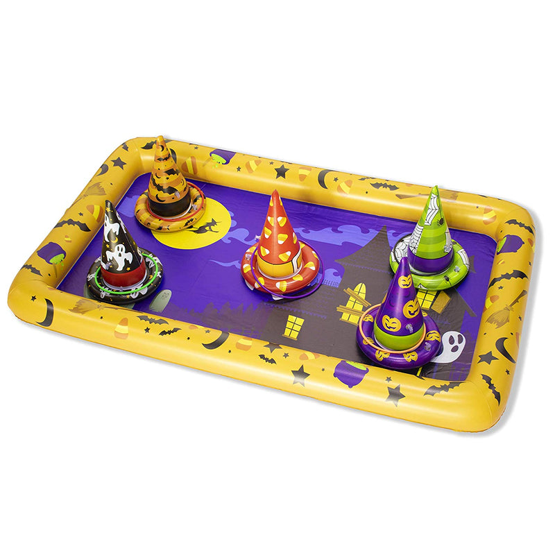 Halloween Witch Hat Ring Toss Game