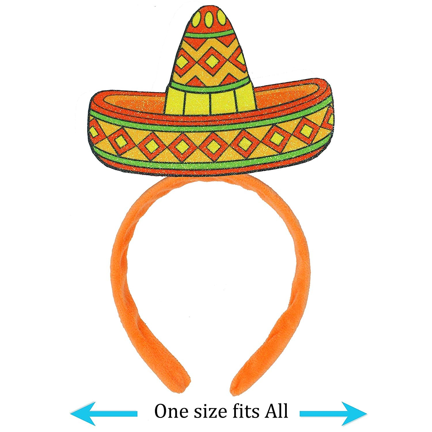 Cinco De Mayo Fiesta Sombrero Headbands