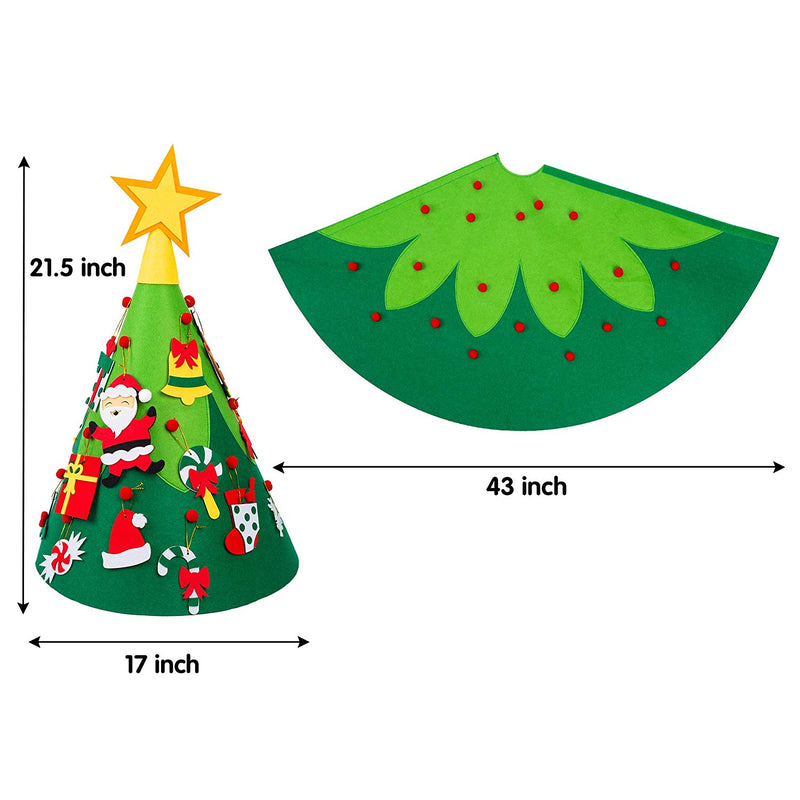 3D DIY Festive Holiday Christmas Tree