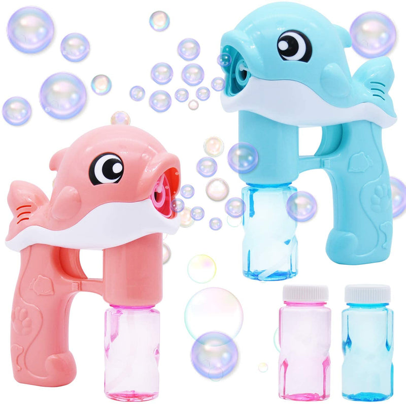 2 PIECE WHALE AUTOMATIC BUBBLE MAKER