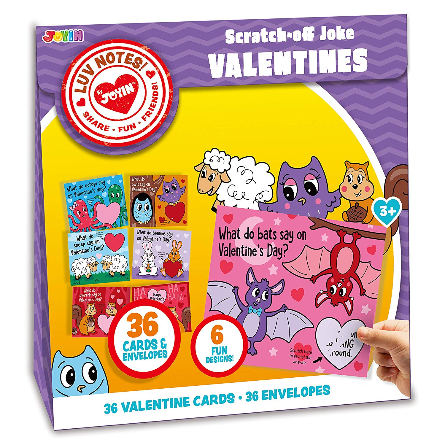 Valentine Funny Scratch-Off Cards