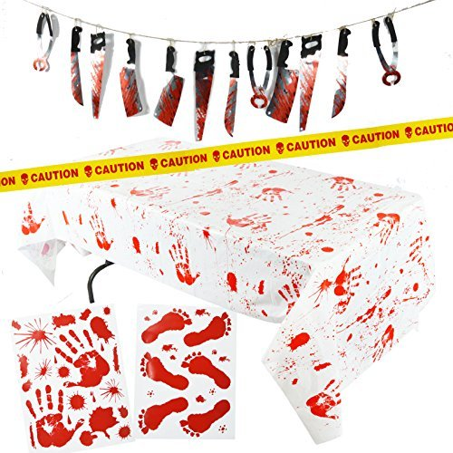 Halloween Party Bloody Decoration Set