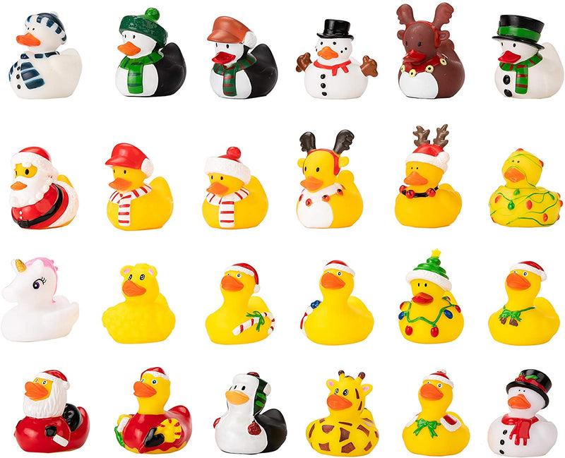 2020 Christmas Advent Calendar with 24 Rubber Ducks