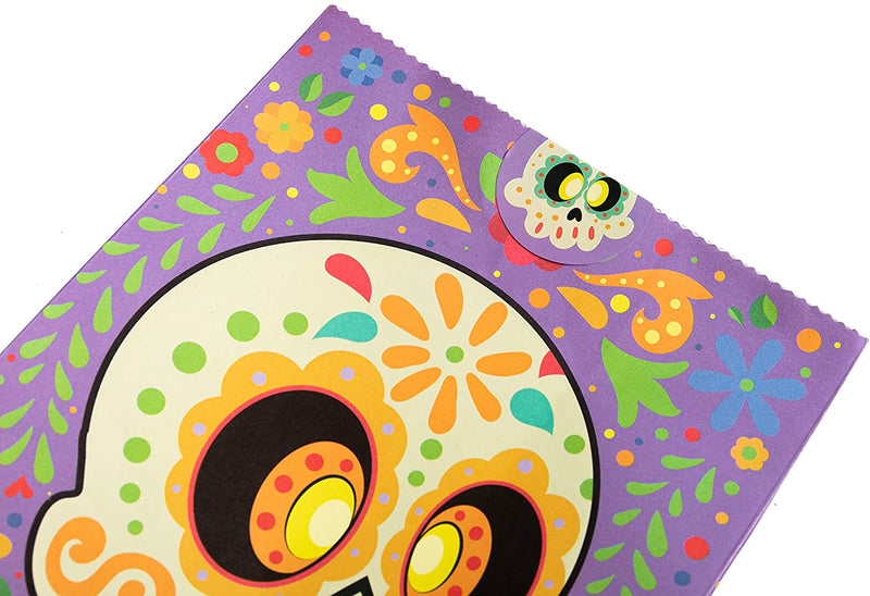 36 Halloween Day of the Dead Treat Bags