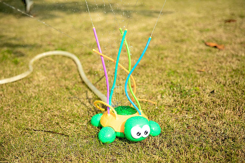 WATER SPRINKLER SWIRL SPLASH TURTLE
