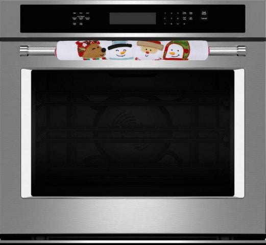 5 Pieces Christmas Kitchen Appliance Handle Covers