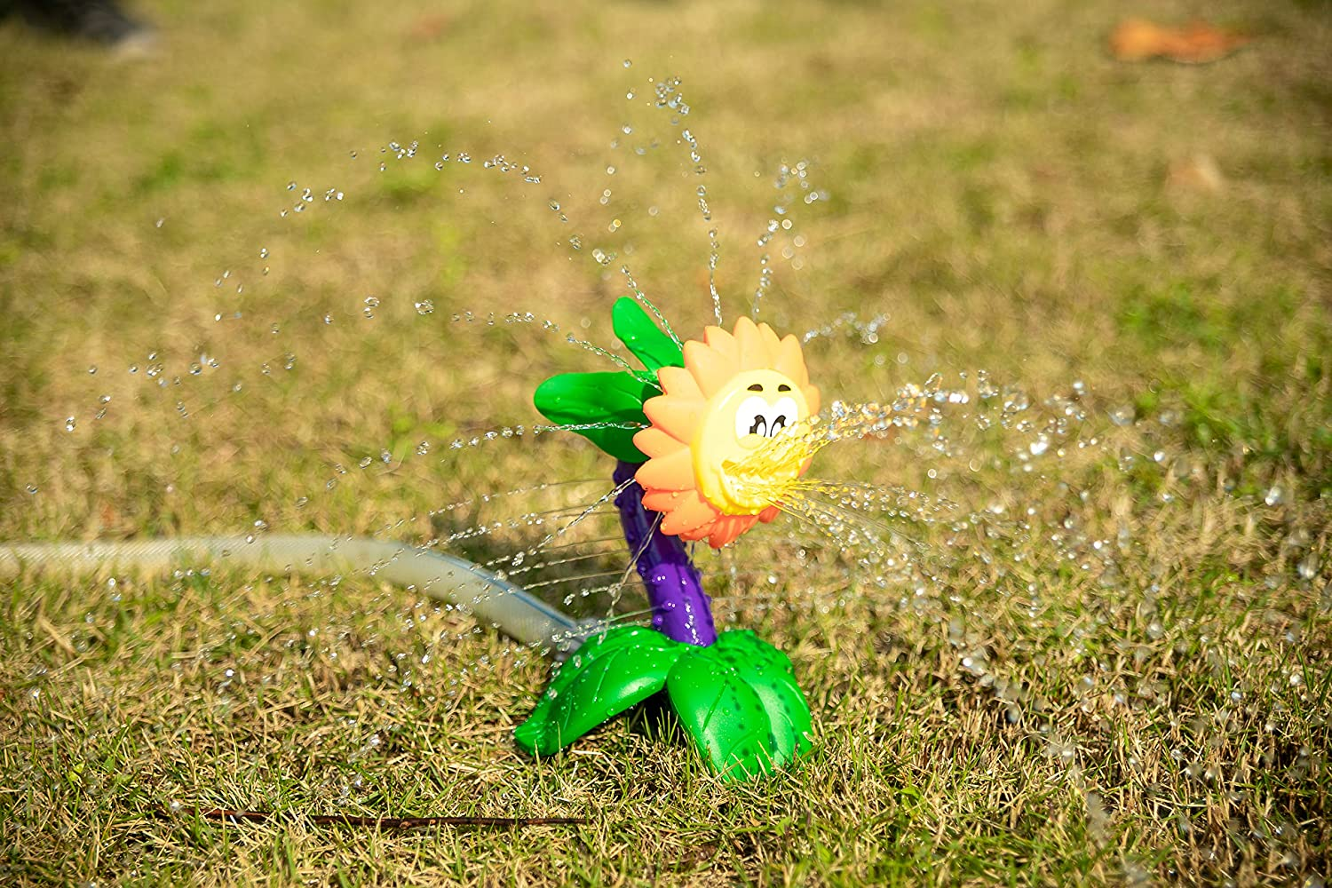 Splash Sunflower Sprinkler Water Spray