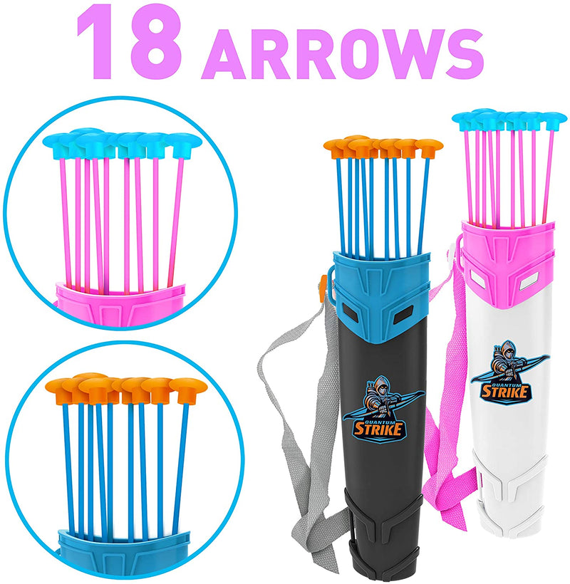 2 in 1 Combo Set Graviton & Photon Bow and Arrow Archery Toy Set for Kids