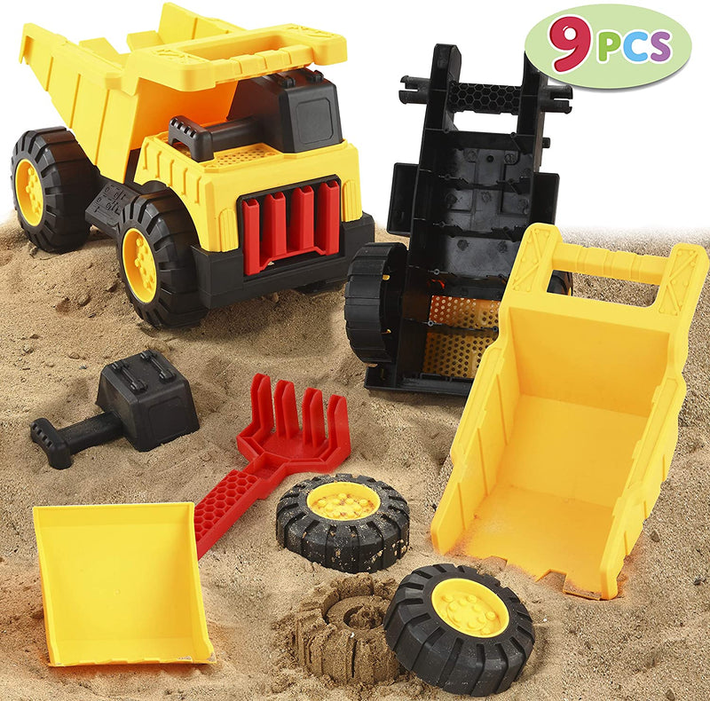 TAKE APART ASSEMBLE CONSTRUCTION TRUCK TOY SET