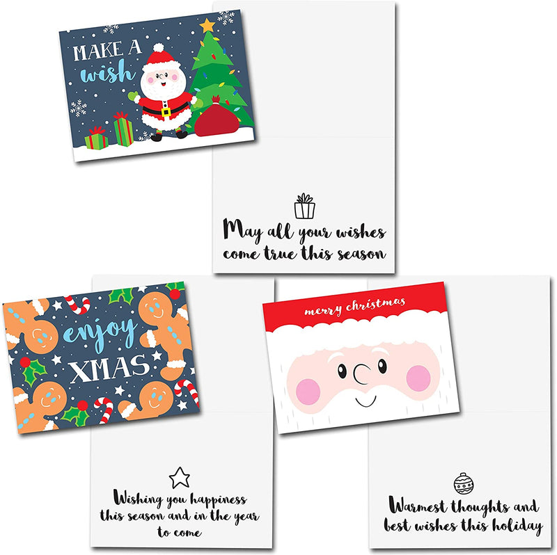 Christmas Holiday Greeting Cards Collection with Envelopes