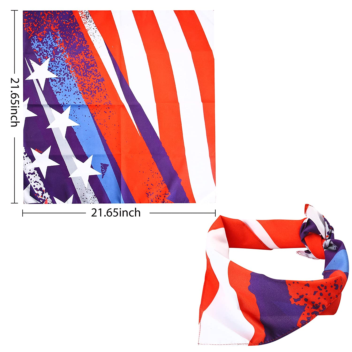 4 Piece Patriotic Accessories