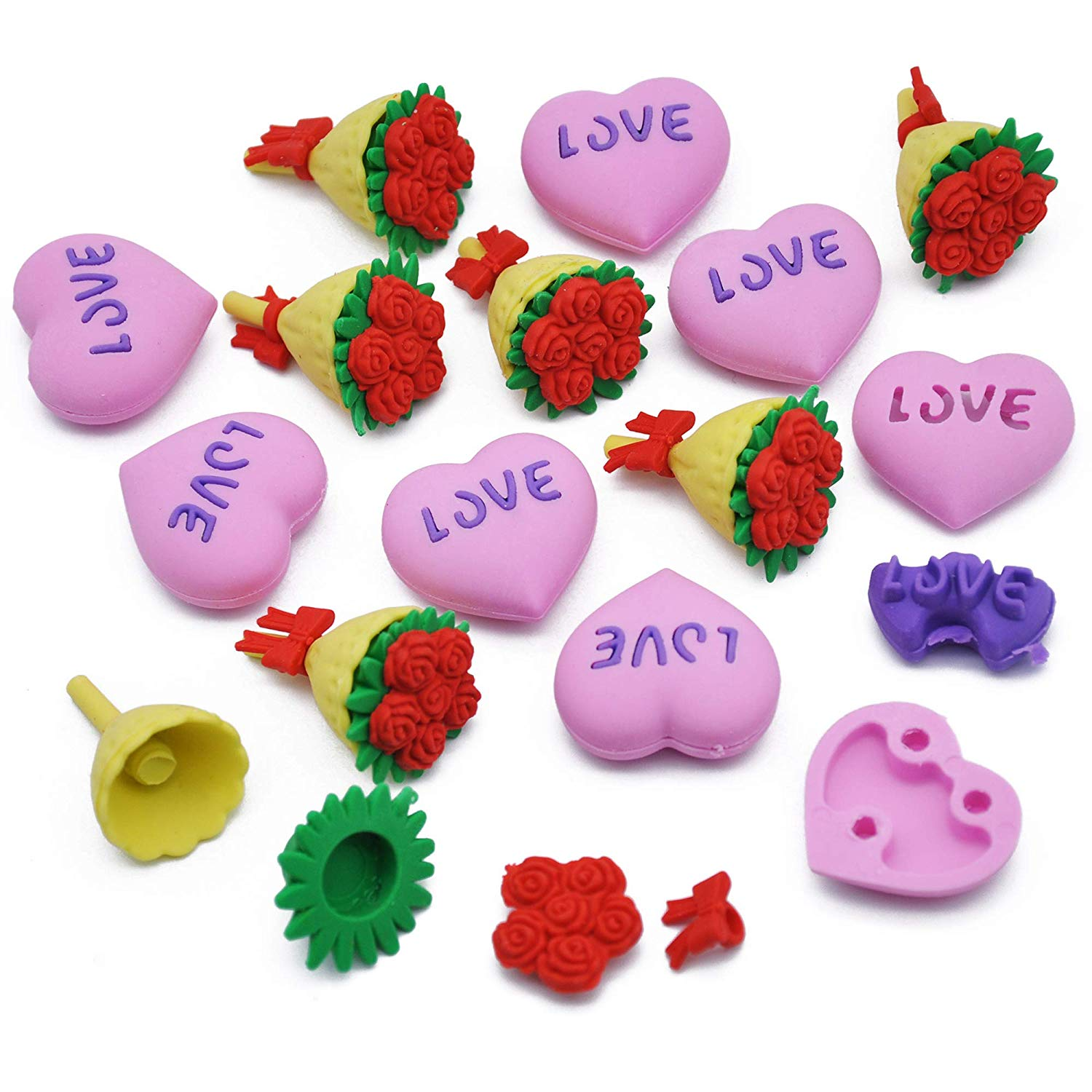 144Pc Valentine Party Supplies