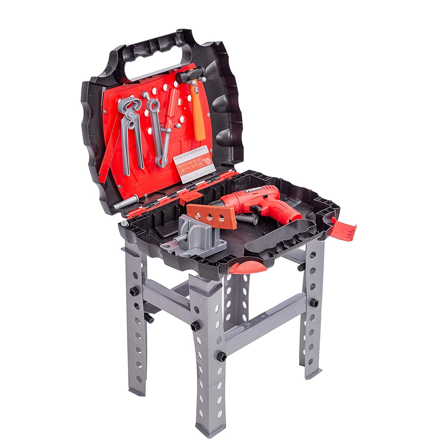 55 Piece Construction Workbench Playset