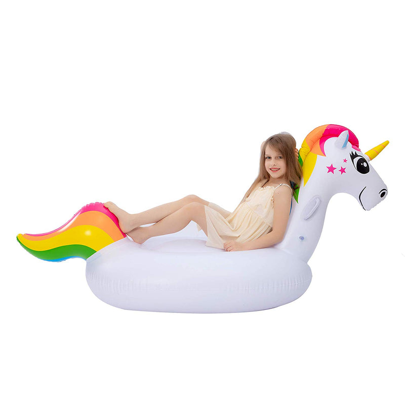 Unicorn Ride On Pool Float