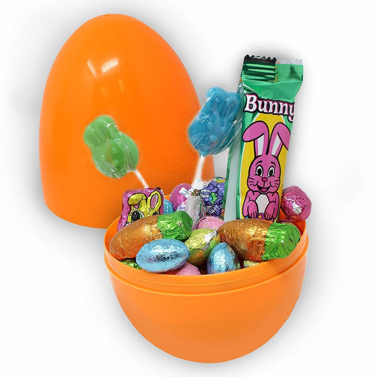Giant Easter Eggs, Solid Colors, 12-Pack