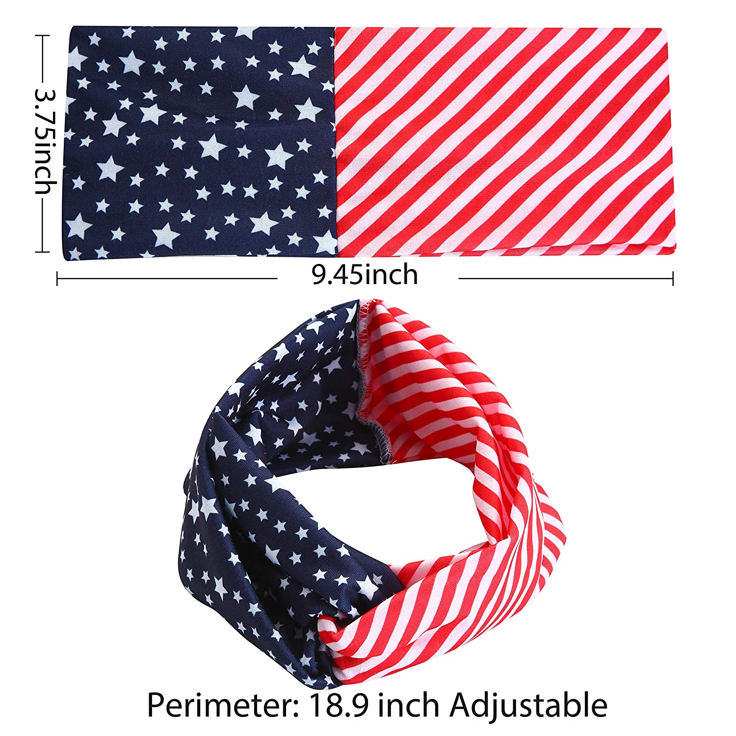 3 Piece Patriotic Accessories