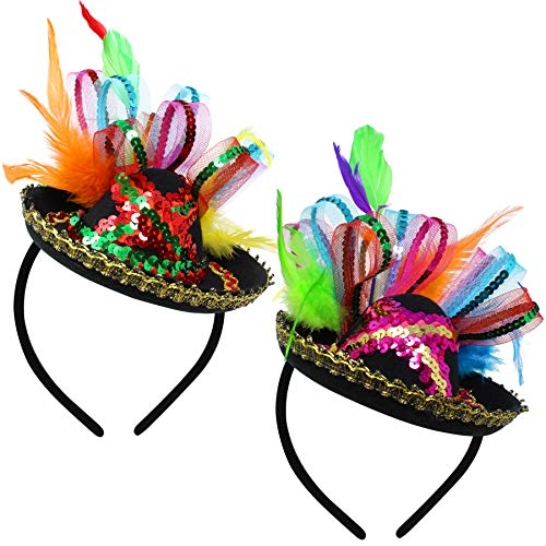 Cinco De Mayo Fiesta Sequined Sombrero