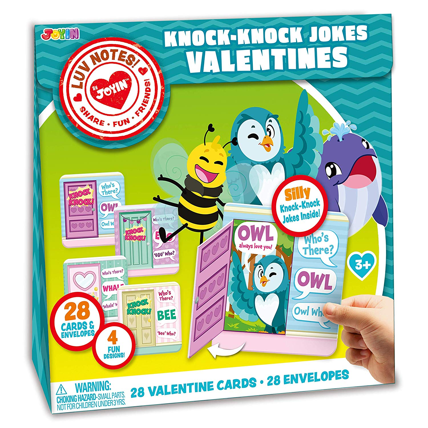 Valentine Gift Cards Of Knock Knock Jokes