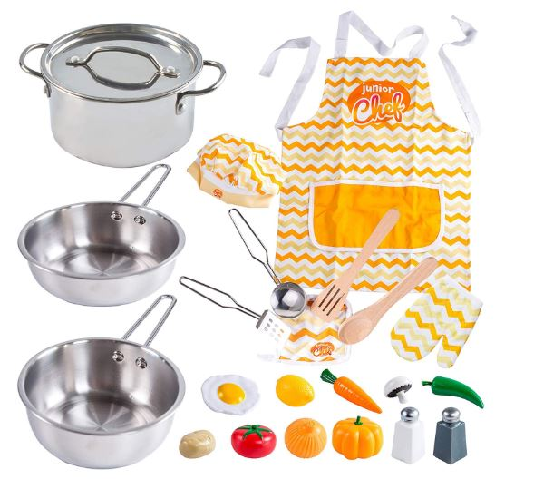 KITCHEN PRETEND PLAY ACCESSORIES TOYS