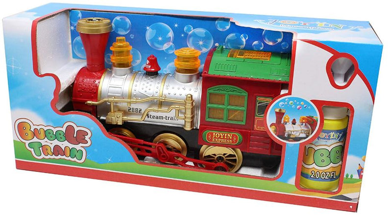BUBBLE BUMP-N-GO STEAM TRAIN LOCOMOTIVE CAR
