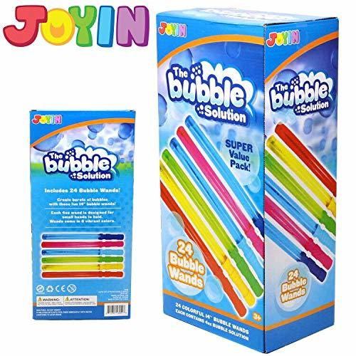Bubble Wands, 24-Pack
