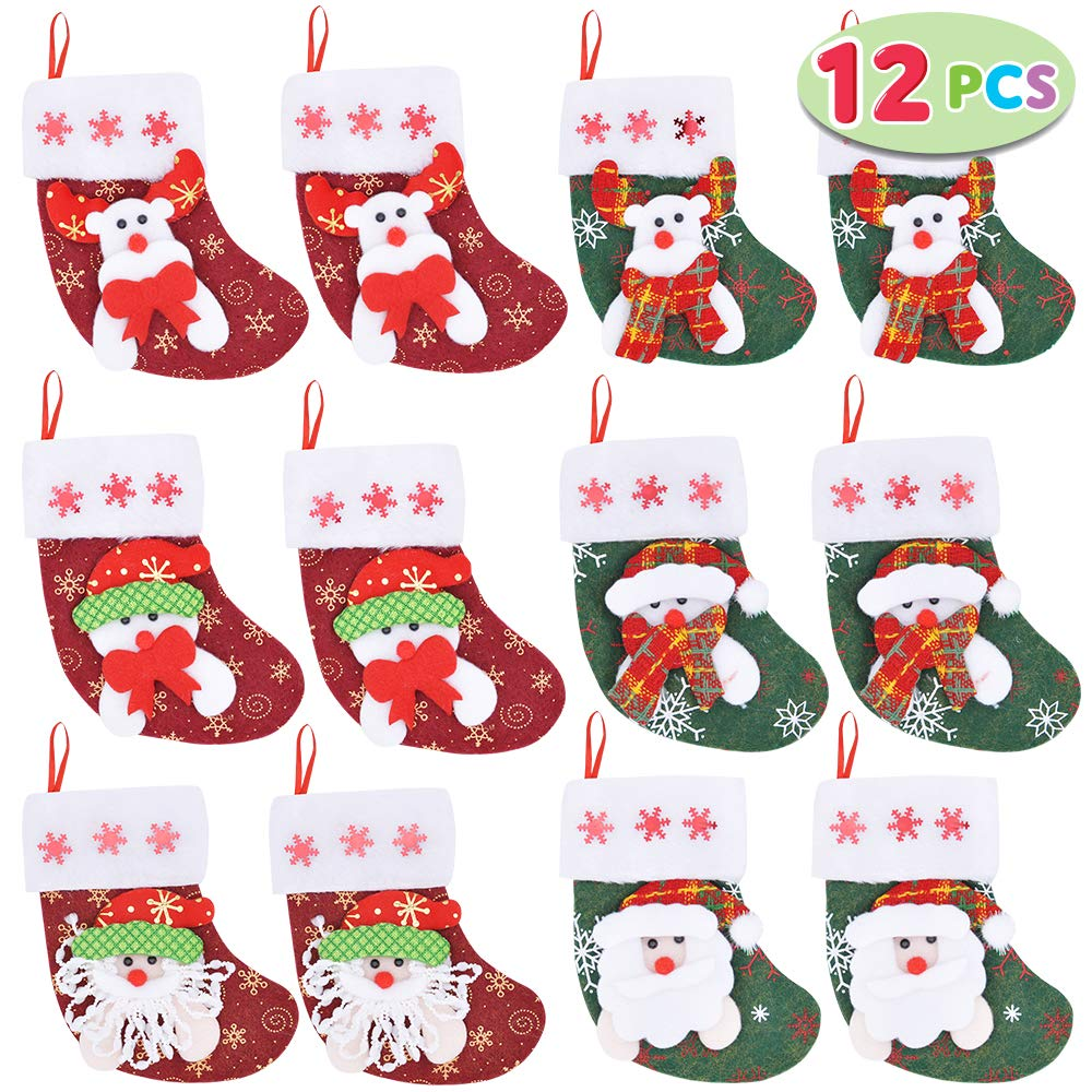 3D Mini Christmas Stocking