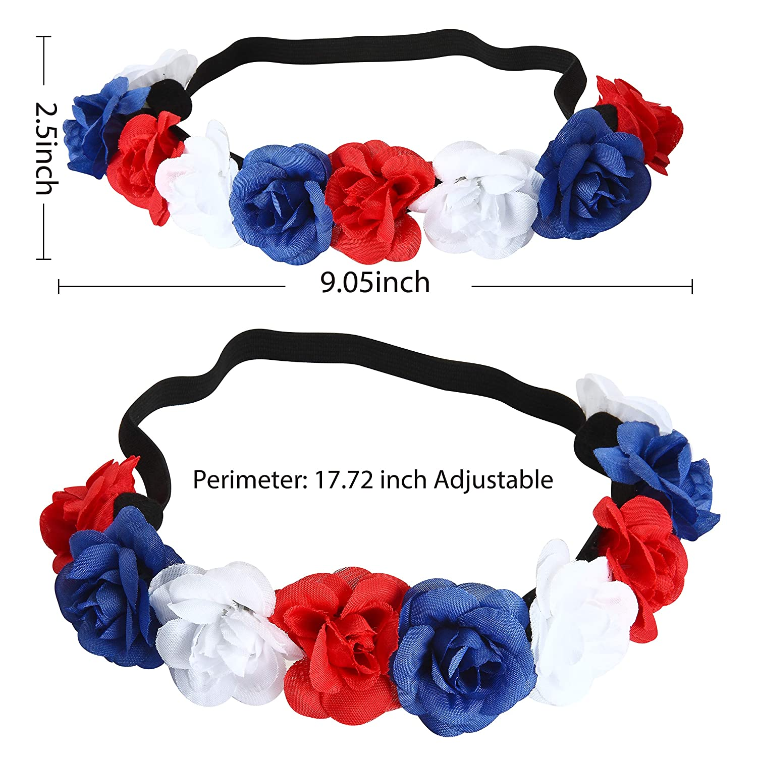 2 Piece Patriotic Accessories