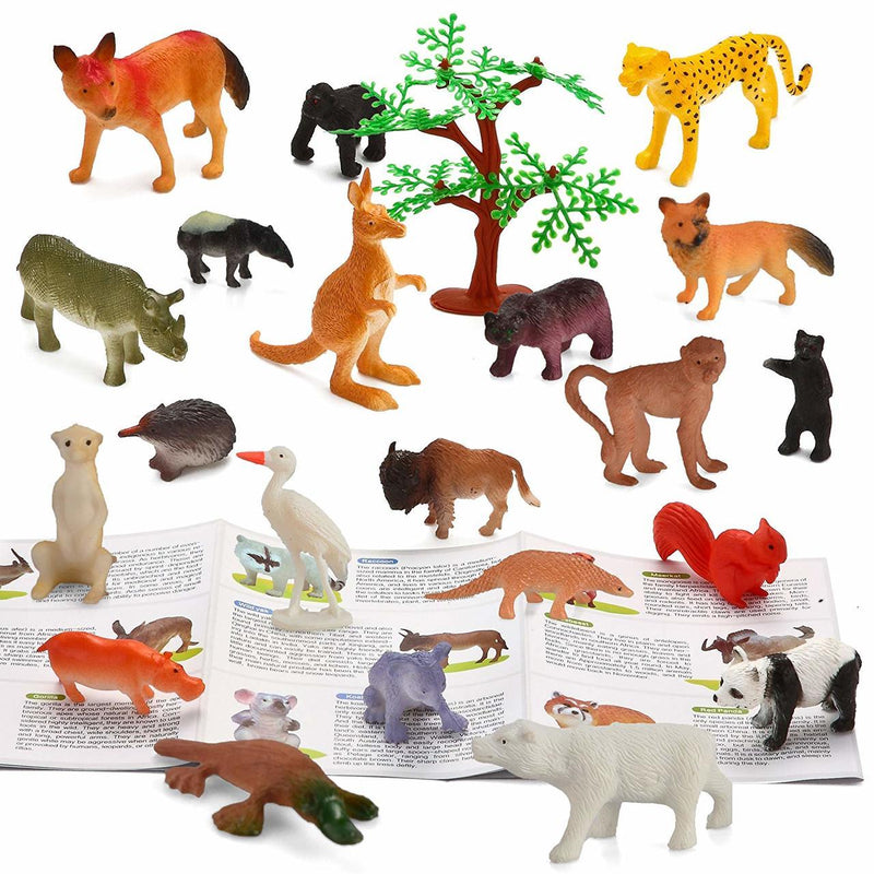 Jungle Animal 38-Piece Set