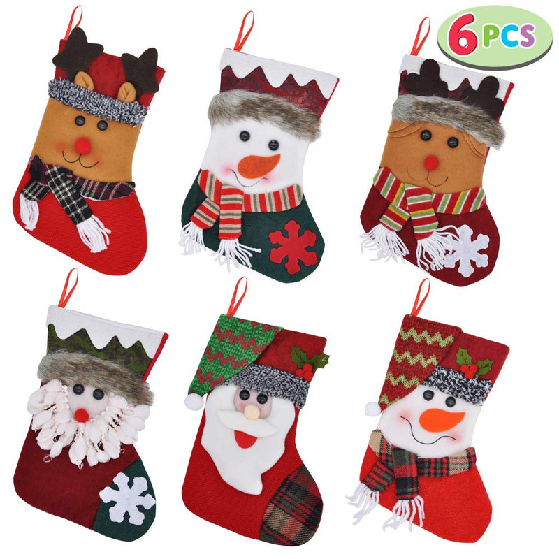 "10"" Christmas Stockings"
