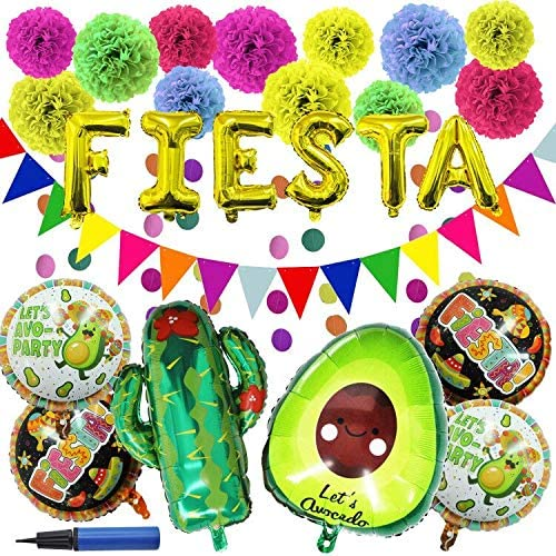 27 PIECE CINCO DE MAYO FIESTA PARTY DECORATION