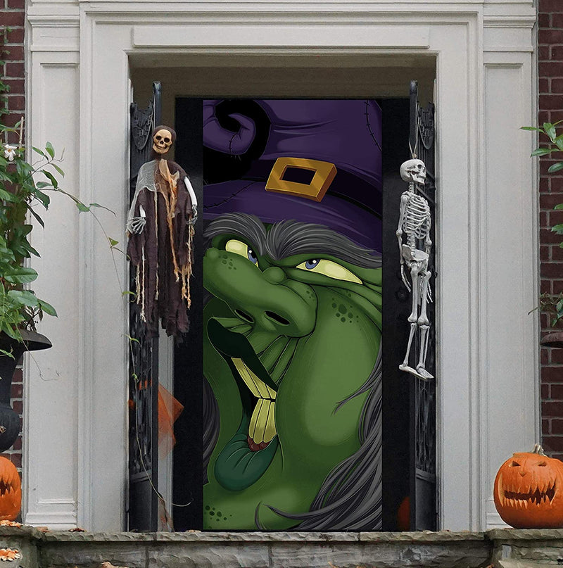 3D Design Witch Door Cover
