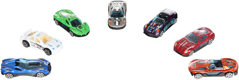 28 Pcs Valentines Day Gifts Cards for Kids with Die-Cast Racing Cars