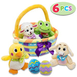 Easter Egg Basket Stuffed Plush