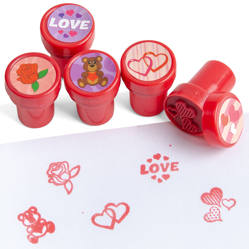 28 Pack Assorted Valentines Day Stationery Kids Gift Set