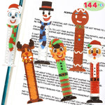 Christmas Bookmark Rulers