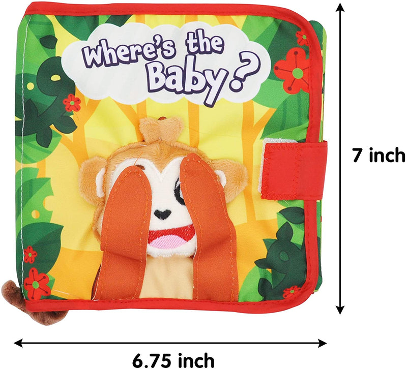 2 Pack Big Baby Cloth Books
