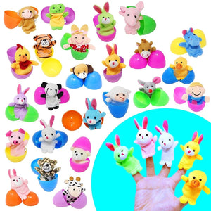 24-Piece Pre-Filled Easter Eggs (Finger Puppets)