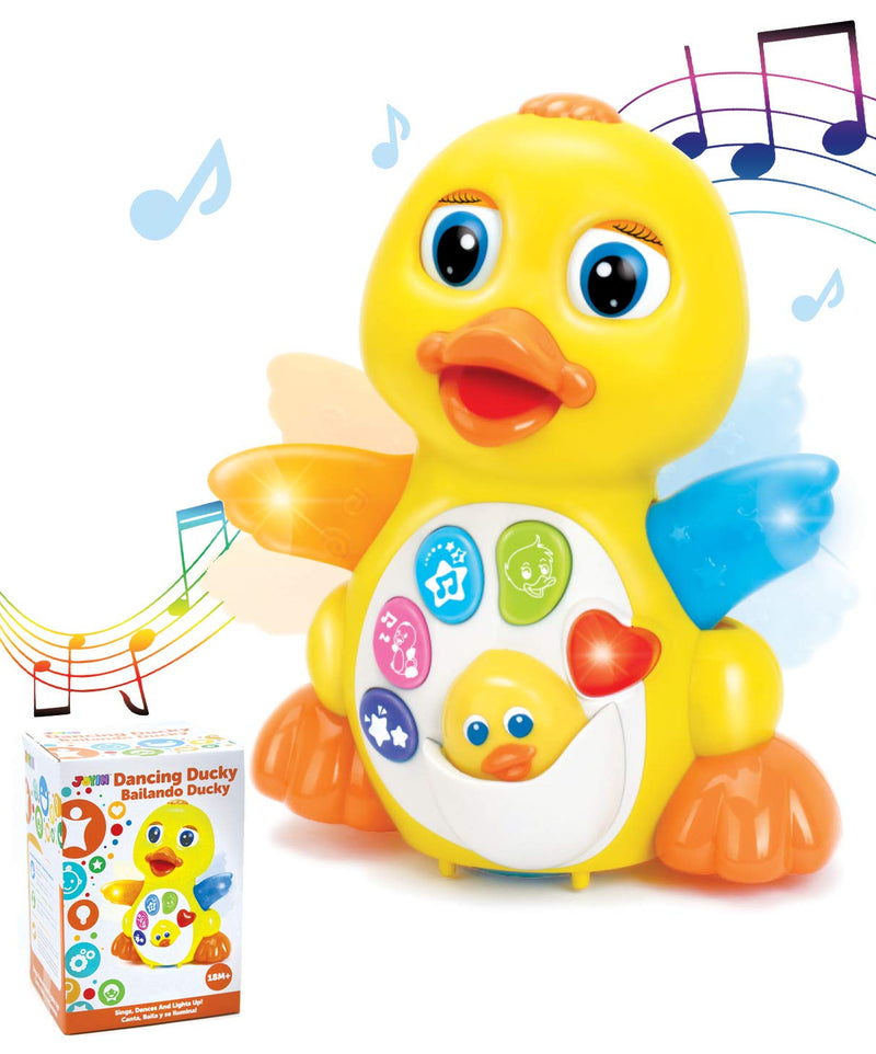 DANCING AND WALKING DUCK BABY TOY