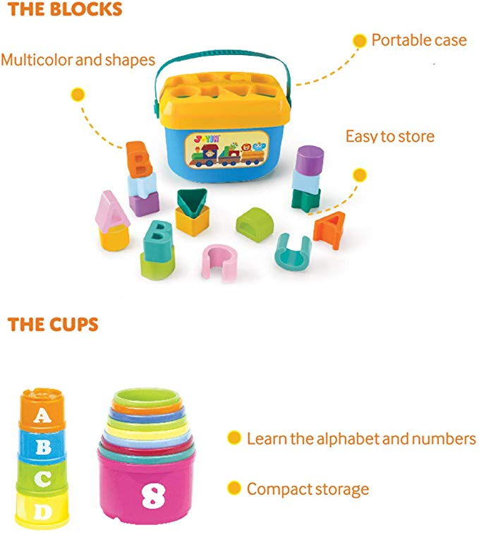 Baby Nesting Stack Cups and Blocks