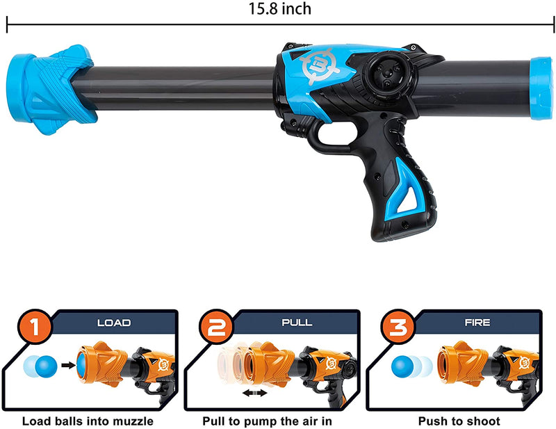 Foam Ball Blaster Shooting Game