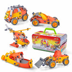 Build and Play STEM Learning 148-Piece Playset