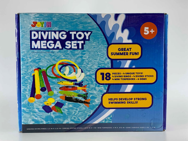 Summer Diving Toys, 18-Piece Set