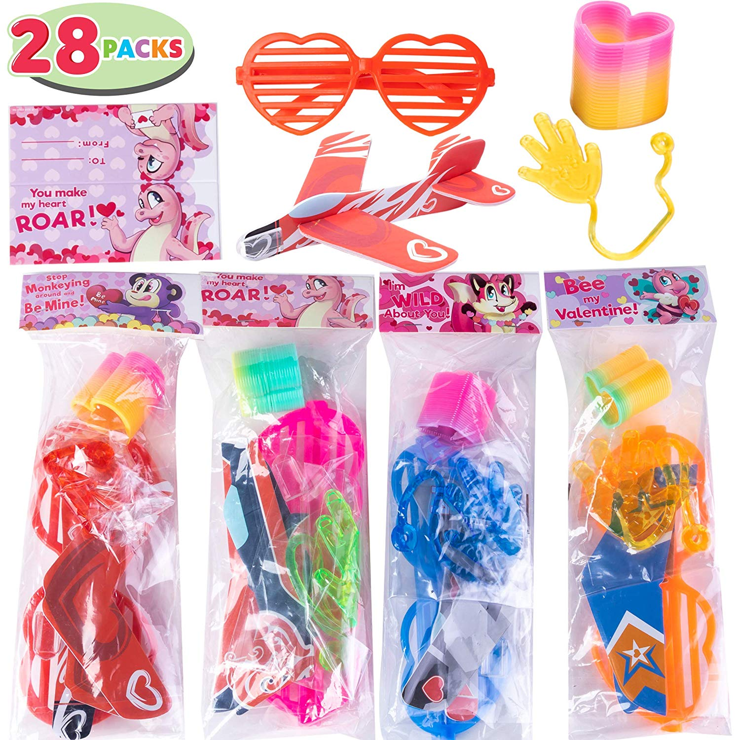 Valentine Gift Assorted Novelty Toy Set