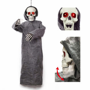 50-inch Animated Hanging Reaper Halloween Decoration
