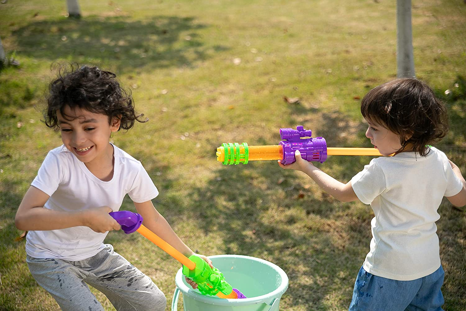 4 Pcs Water Guns Water Blaster