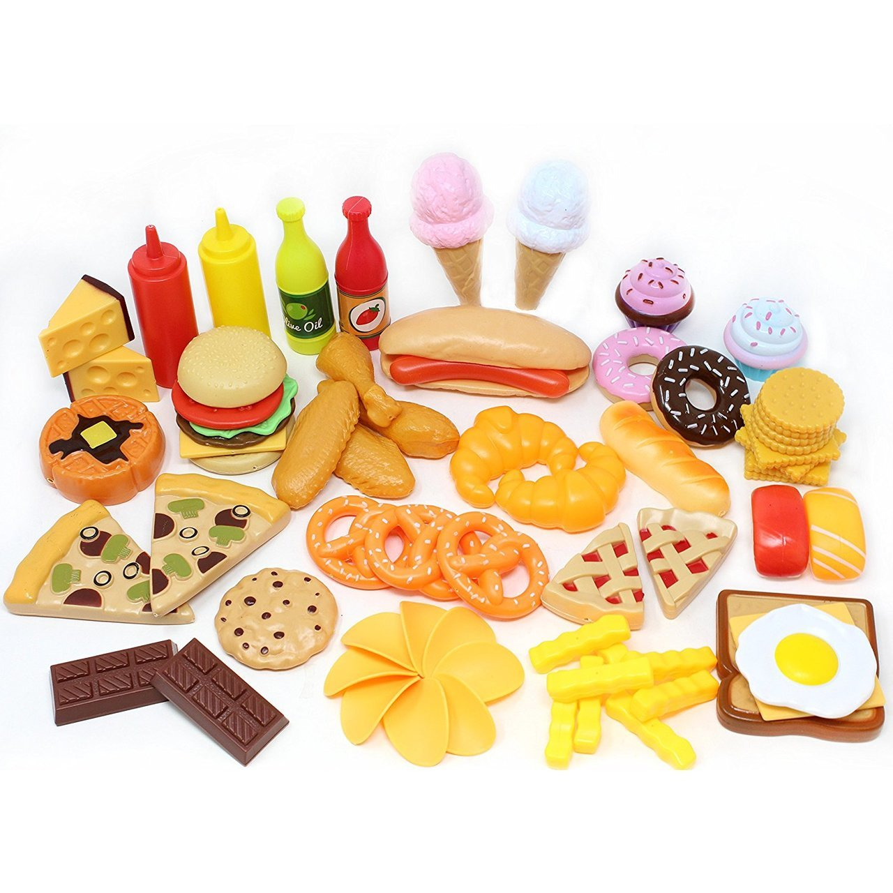 Play Food Set Pretend Food Toys
