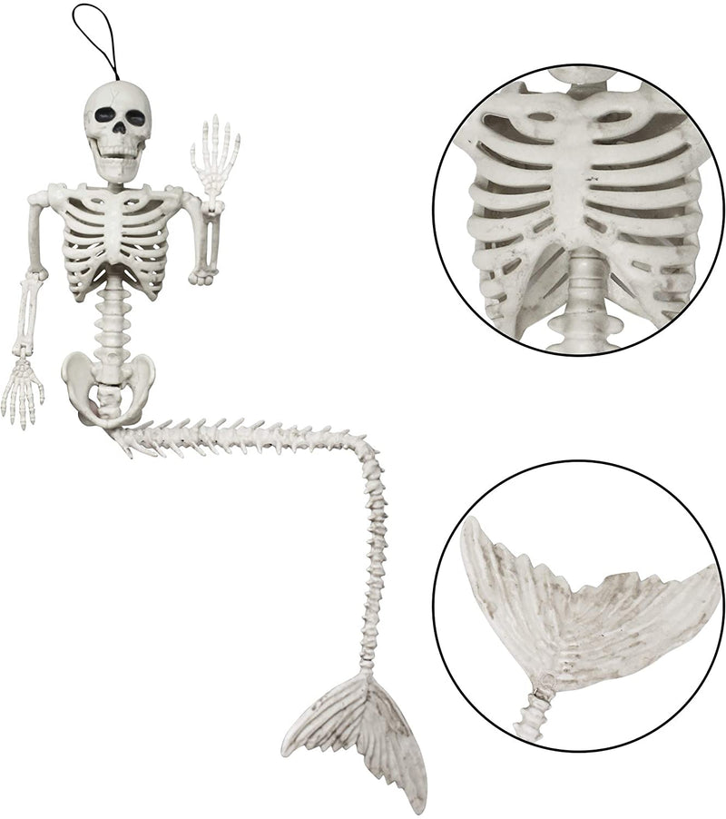 Spooky Skeleton Mermaid