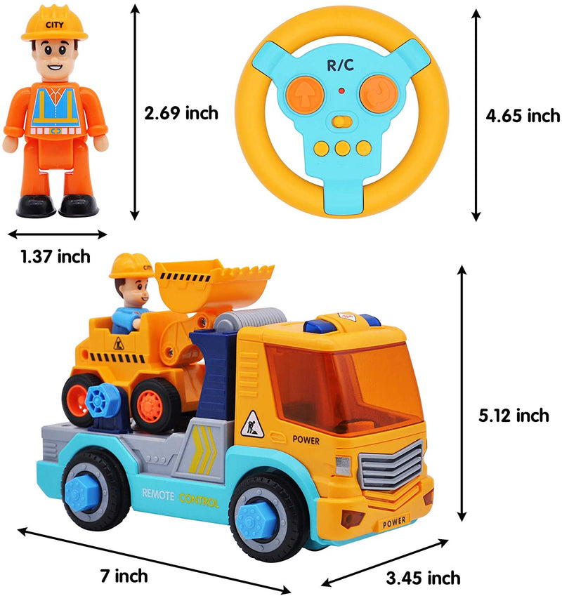 STEM Remote Control Construction Truck